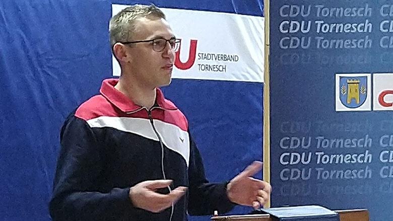 Job Meyer Vorsitzender der JU Tornesch-Uetersen