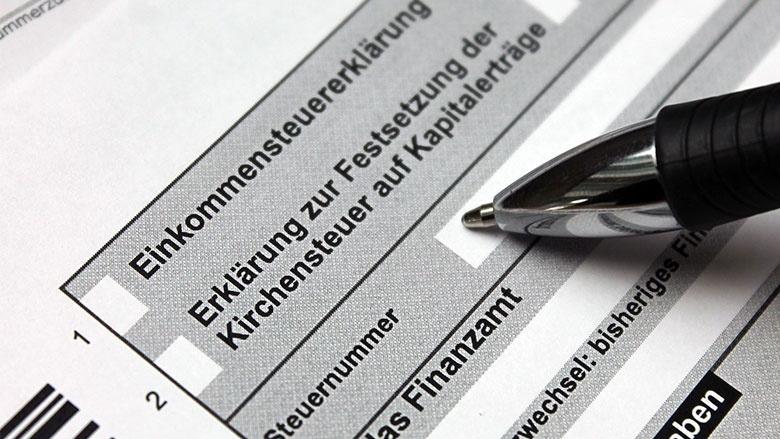 Steuerantrag