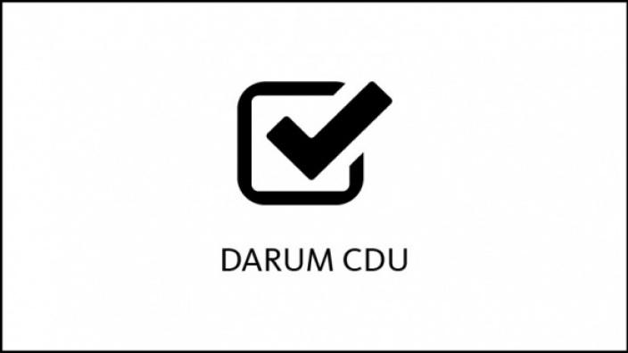 Darum CDU