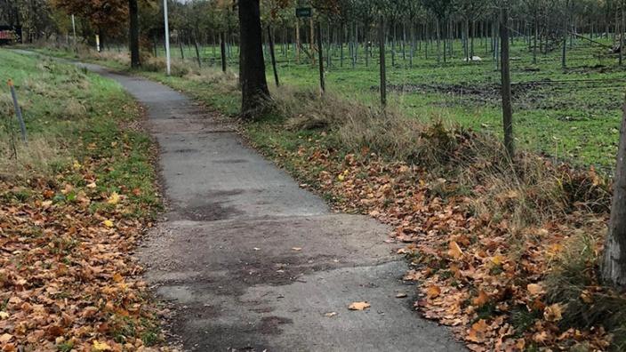 Radweg Esinger Strasse L107