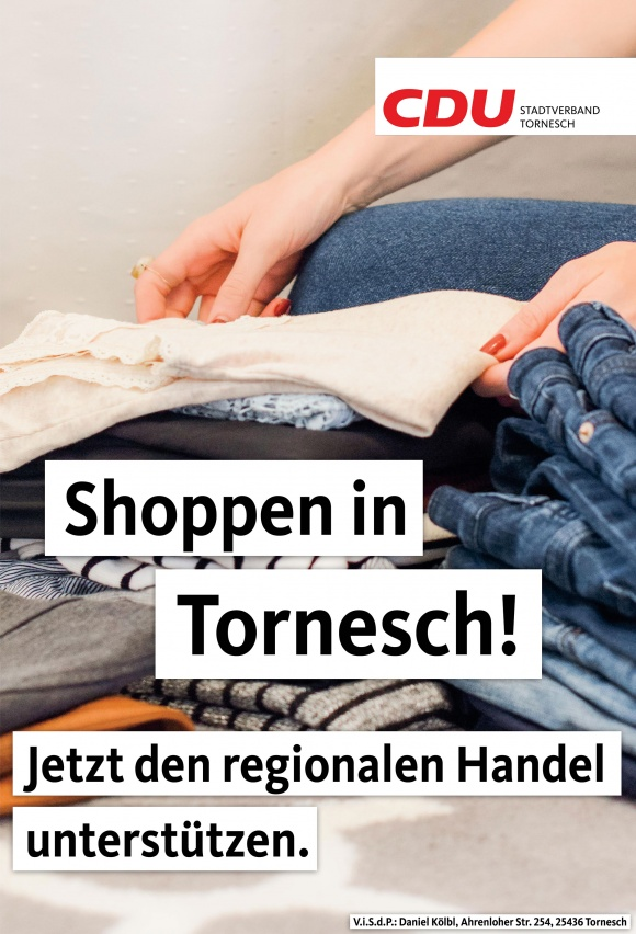 Shoppen in Tornesch - Jetzt den regionalen Handel unterstützen